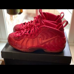 Nike foamposites pro red October, size 10.5